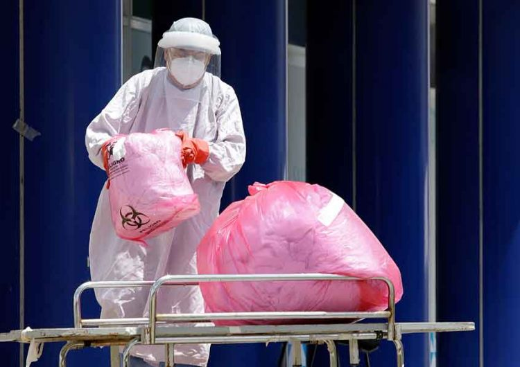 21% de del personal de Salud en Puebla se han contagiado de Covid
