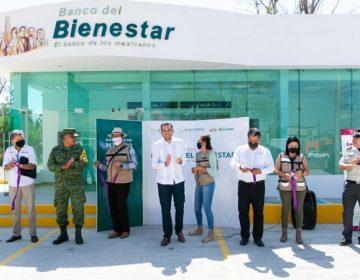 Inauguran primer sucursal del Banco del Bienestar en Aguascalientes