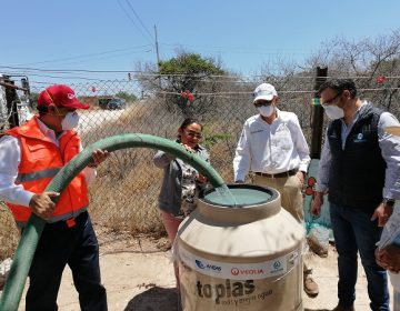 Veolia, CCAPAMA, CONAGUA y asociaciones llevan agua a comunidades vulnerables