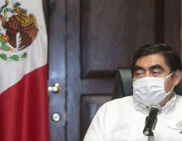 Claudia Rivera edil de Puebla denuncia a Miguel Barbosa por violencia política de género