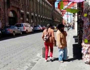 Comercios no esenciales abrieron sus puertas en el Centro Histórico de Puebla