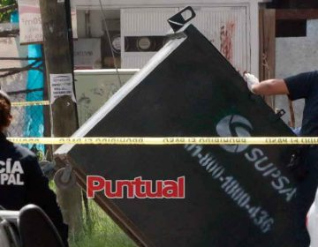 Encuentran restos humanos en Infonavit Xilotzingo en Puebla capital