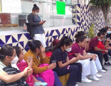 Enfermeras eventuales del Sutissstep denuncian violaciones y abusos laborales