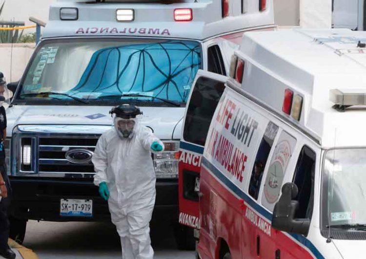 Hospitales Covid de Puebla aún con lugares para infectados