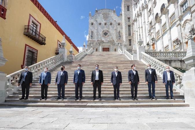 Se reúnen gobernadores de la alianza federalista en Guanajuato