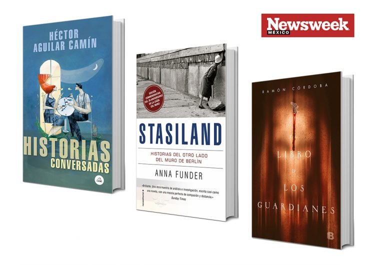 Tres autores: Aguilar Camín, Anna Funder, Ramón Córdoba…