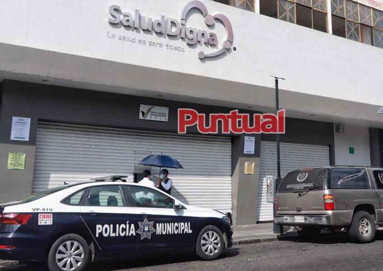 Muere hombre al interior del Laboratorio Salud Digna en Puebla