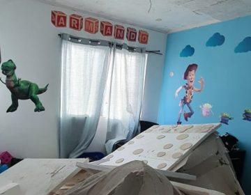 Colapsa casa en San Pedro Cholul, no resistió daño estructural