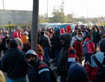 Paran obreros textilera en El Verde por falta de pago
