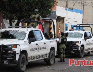 Policía Estatal de Puebla realizó una limpia en la 46 Poniente