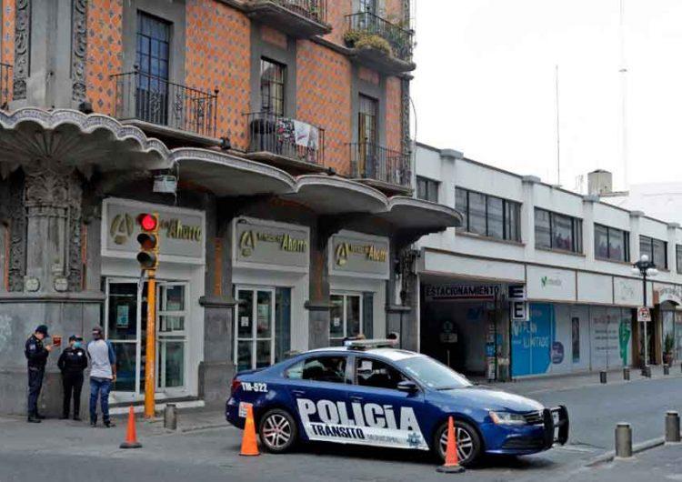 Reapertura el centro histórico de Puebla hasta que haya Semáforo Naranja