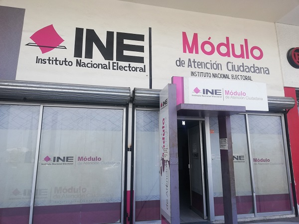 Alistan reapertura de módulos del INE en Aguascalientes