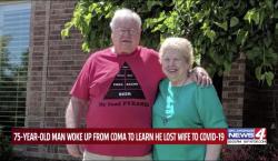 Un hombre descubrió que su esposa murió por el coronavirus…