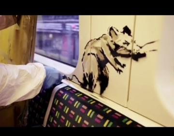 Aparece nueva obra de Banksy en el metro de Londres