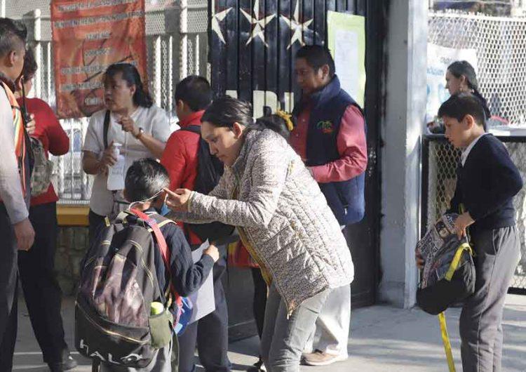 Sin condiciones para regresar a clases presenciales en Puebla