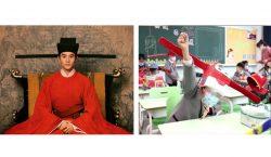 Sombreros de la dinastía Song para mantener el distanciamiento social…
