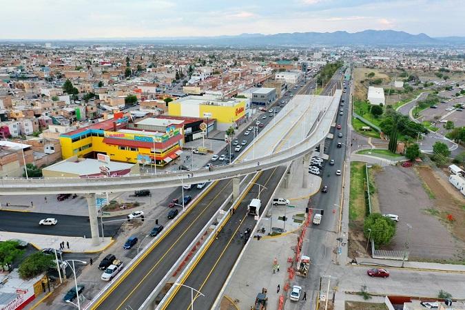Inauguran puente vehicular de Av. Mariano Hidalgo y Segundo Anillo