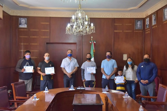 Premian a ganadores de concurso virtual de habilidades deportivas en Jesús María
