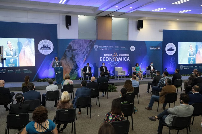 Presenta gobierno de Aguascalientes plan de reactivación económica