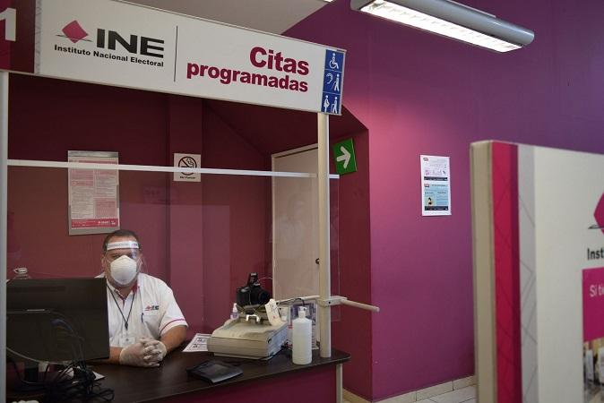 Reabrirán módulos del INE en Aguascalientes a partir del 3 de agosto