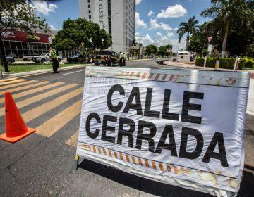 Cierran calles y limitan acceso en inmediaciones de Centro Siglo XXI