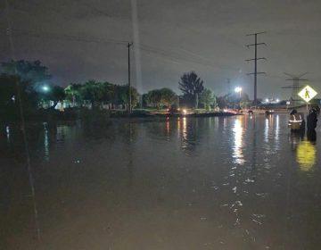 Atienden reportes por lluvias en Jesús María
