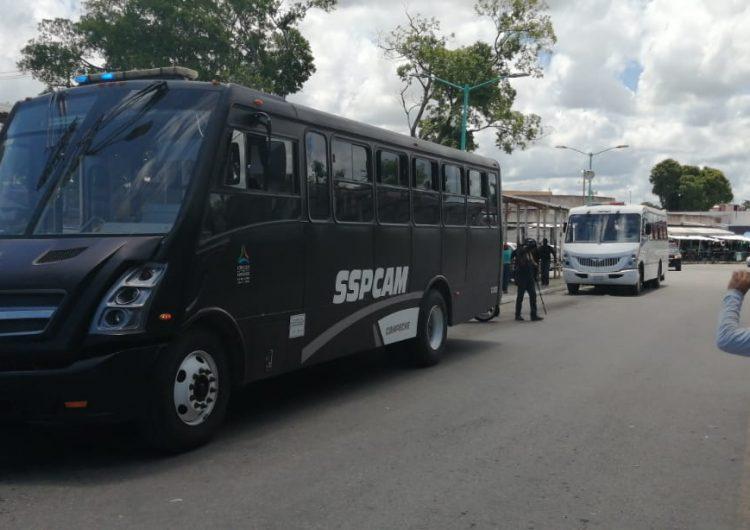 Para transporte público en Campeche