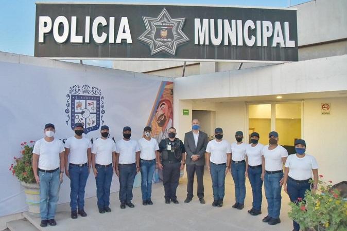 Entregan primer pago a cadetes que se sumarán a la Policía Municipal de Jesús María