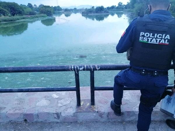 Encuentran cuerpo de hombre ahogado en presa del parque México