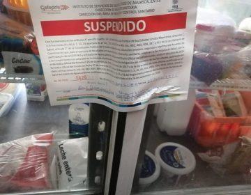 Suman 135 establecimientos suspendidos por la Guardia Sanitaria