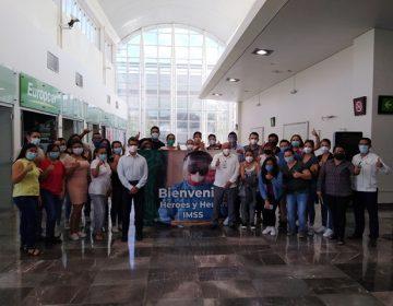Por negligencia local, llegan nuevos médicos y enfermeras al IMSS Campeche
