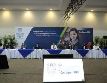 Analiza sector educativo de Aguascalientes opciones para el próximo ciclo escolar