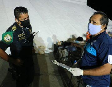 Derechos Humanos supervisa revisión en retenes policiacos