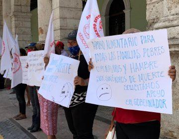 Protestan antorchistas, quieren apoyos