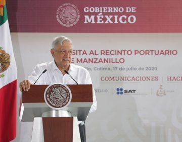 López Obrador da a militares el control administrativo de puertos y aduanas