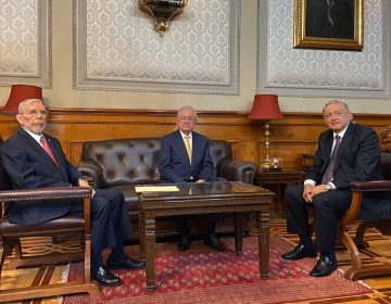 López Obrador anuncia la salida de Javier Jiménez Espriú de la SCT