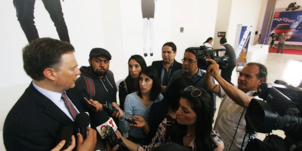 Exige la CNDH respetar a la prensa, tras agresiones de Bonilla