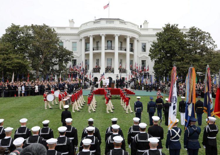 Así es el protocolo de la Casa Blanca para recibir a líderes mundiales