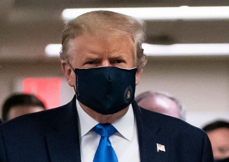 """""""No quiero usar uno"""": cómo Trump pasó de evitar el cubrebocas a llamarlo patriótico"""