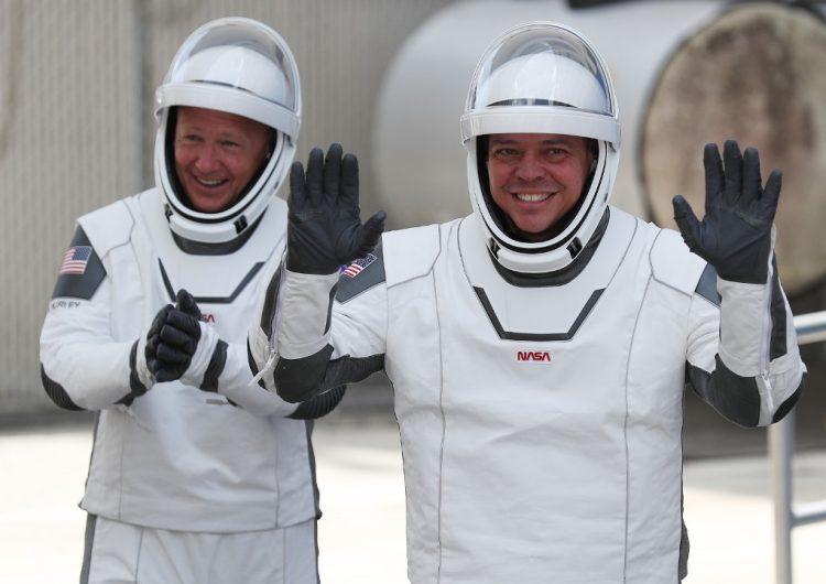 Astronautas de la Crew Dragon se preparan para volver de la Estación Espacial Internacional