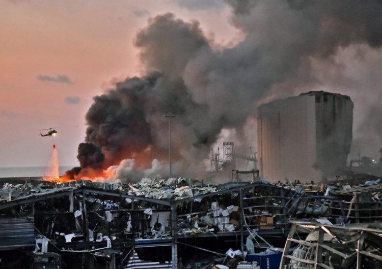Beirut y otras tragedias en el mundo relacionadas con el nitrato de amonio
