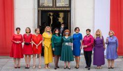 Diputadas polacas visten los colores de la bandera del orgullo…