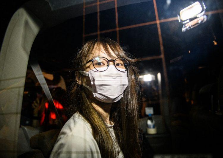 Detienen a magnate de la prensa Jimmy Lai y a la conocida activista Agnes Chow en Hong Kong