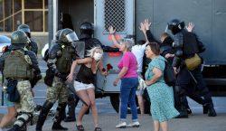 Protestas tras la reelección del presidente de Bielorrusia; la UE…