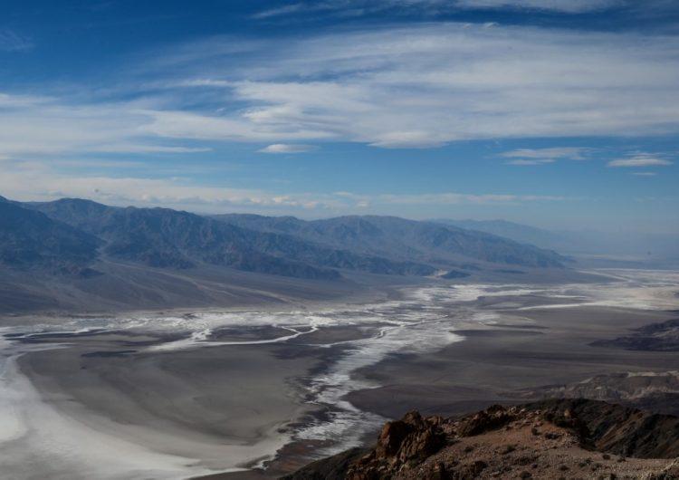 El valle de la Muerte en California registra 54.4°C podría ser la tercera temperatura más alta de la historia