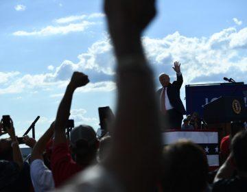 """Trump dice que Biden convertirá a Estados Unidos en """"otra Venezuela"""""""