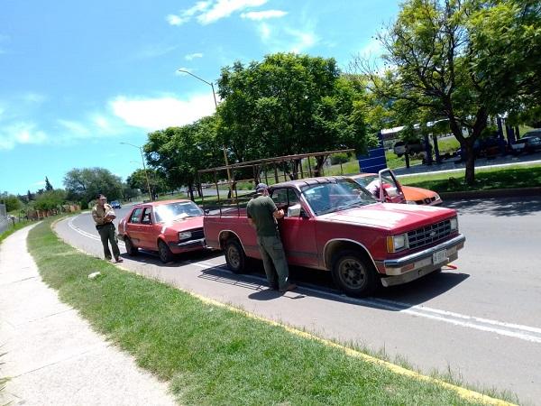Retoma PROESPA operativos para asegurar vehículos sin verificación