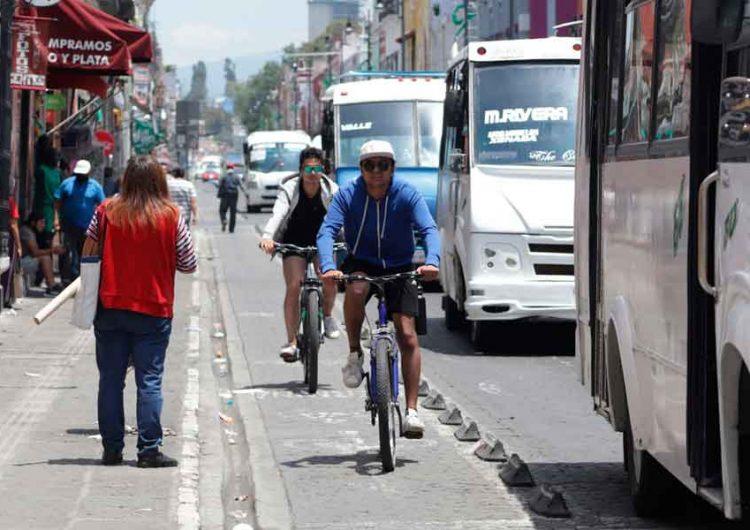 Para continuar con la reactivación, abren más vialidades del centro histórico de Puebla