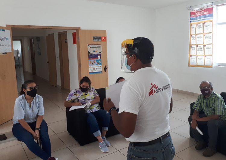 Nuestra movilización en México para preparar centros y albergues de migrantes contra el COVID-19