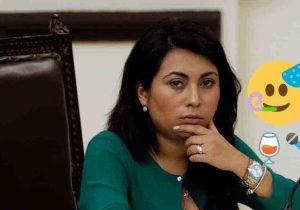 Captan a la diputada Nora Merino enfiestada en plena pandemia
